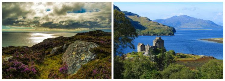 тотални романтици Шотландия