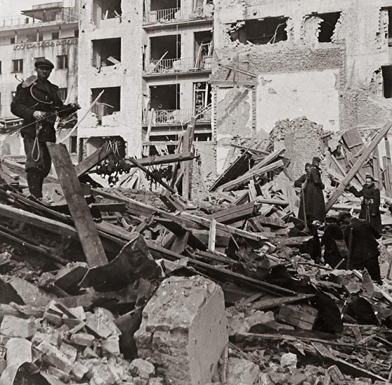 Враца бомбардировки