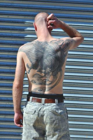 мъж татуировки