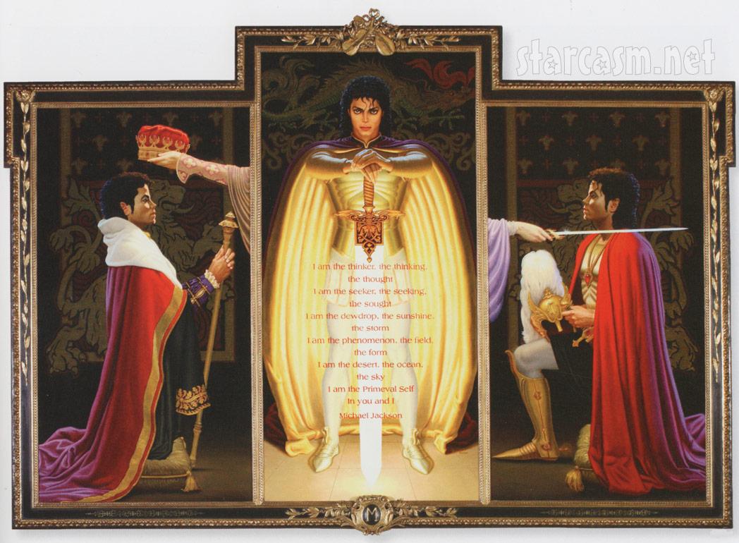 Триптих на Майкъл Джаксън от Дейвид Нордал.