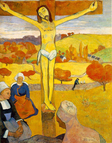 The-Yellow-Christ-Le-Christ-jaune-by-Paul-Gauguin