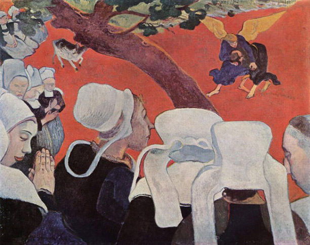 Vision-After-the-Sermon-1888-Paul-Gauguin