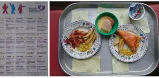 английските ученици - обяд