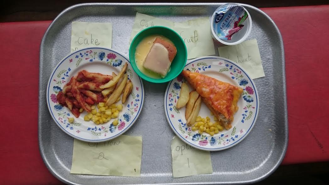 храна - английско училище