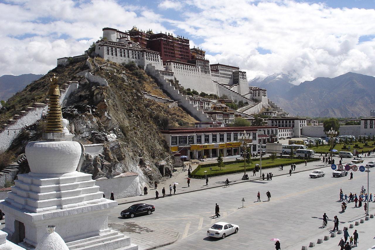 Потала Тибет Лхаса