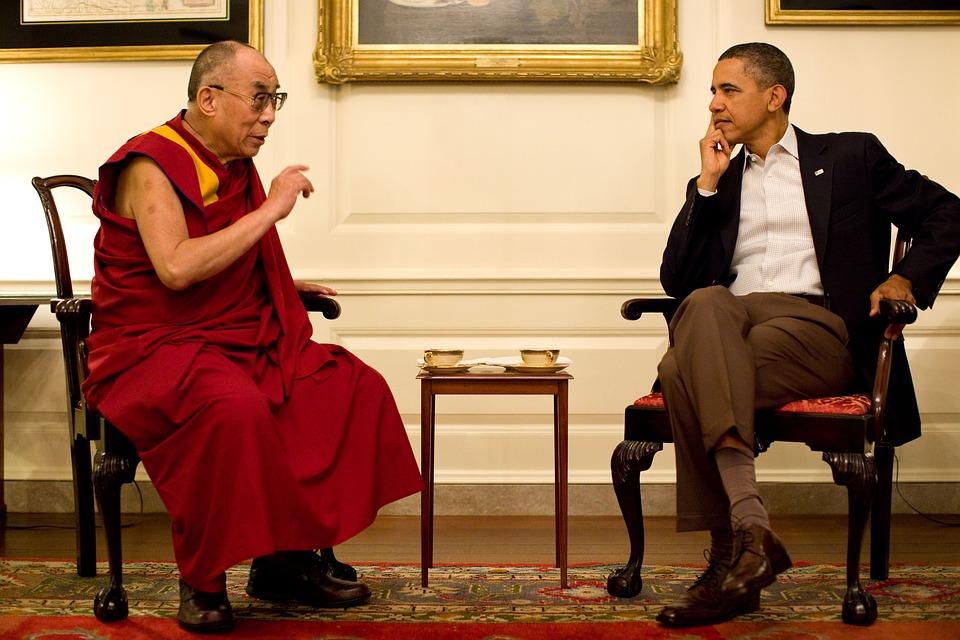 Далай Лама Тензин Гяцо