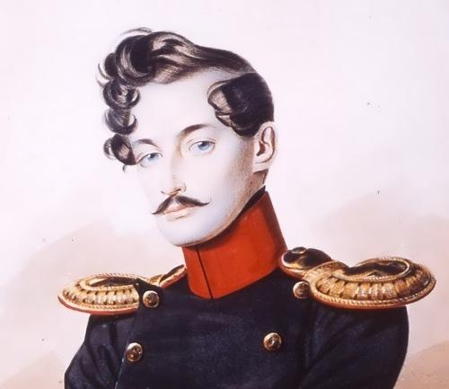 Жорж Дантес убива Пушкин на дуел през 1837 г.