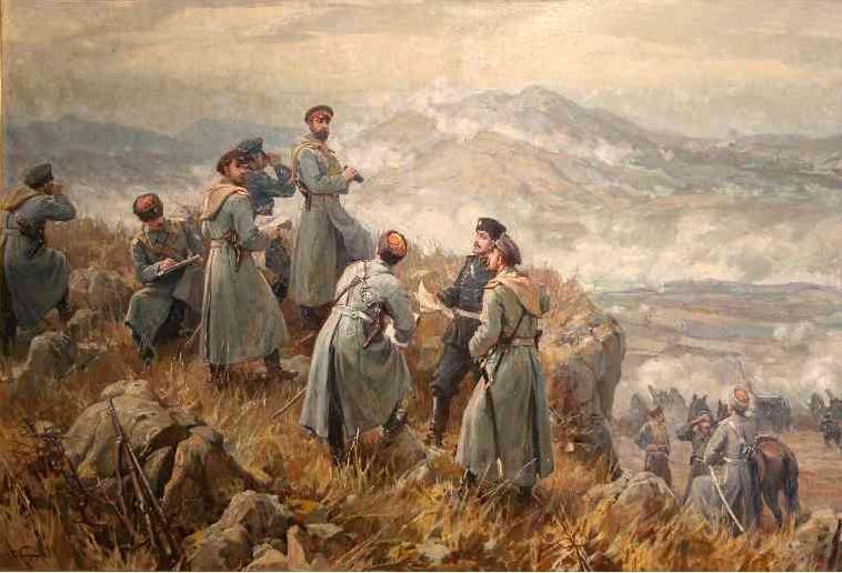 Батенберг война Съединението
