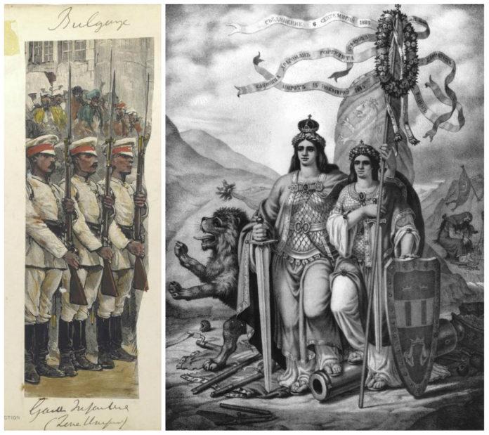 Съединението на двете Българии