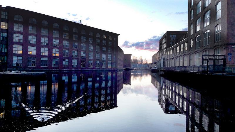 фабрика Финлейсон Тампере Финландия