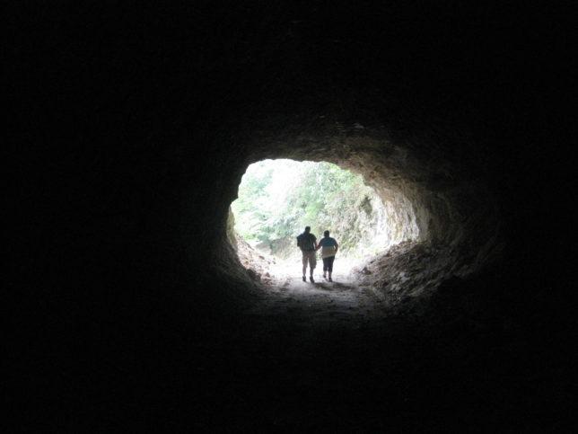 Тунелът по течението на Ерма