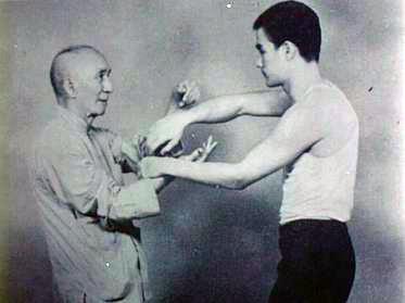 Ип Ман и Брус Ли