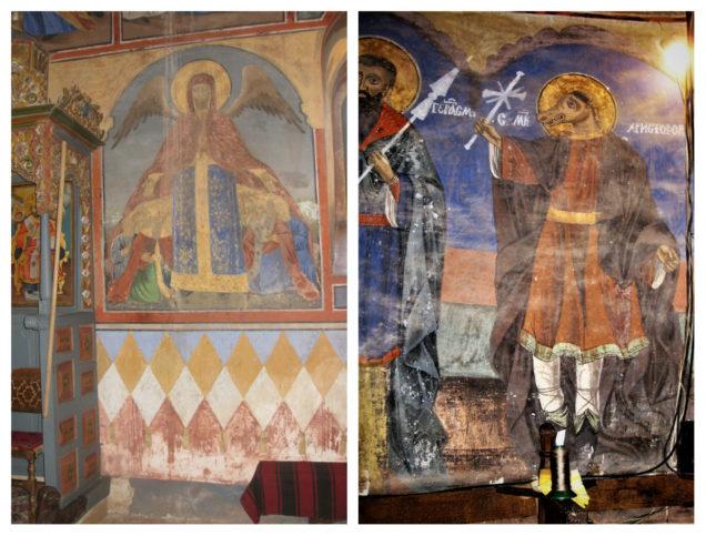 Стенописите в Суковския манастир