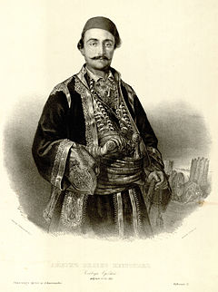 Хайдут Велко е сред приближените на Пазвантоглу. Снимка: By Anastas Jovanović (1817-1899) - This image was downloaded from the National Library of Serbia's collection Zbirka grafika Anastasa Jovanovića. COBISS ID 123055628, Public Domain, https://commons.wikimedia.org/w/index.php?curid=1502859