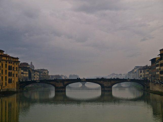 Една от снимките, които Христо Шопов е заснел във Флоренция.