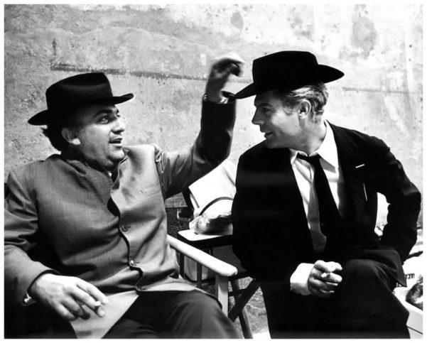Двамата с Марчело Мастрояни се запознават през 1948 г.