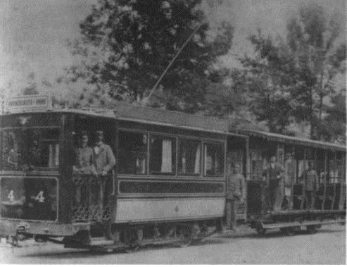 първи трамвай София
