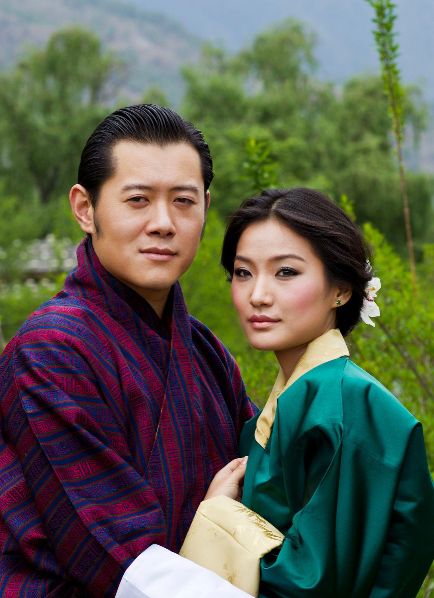 най-младата кралица в света Бутан