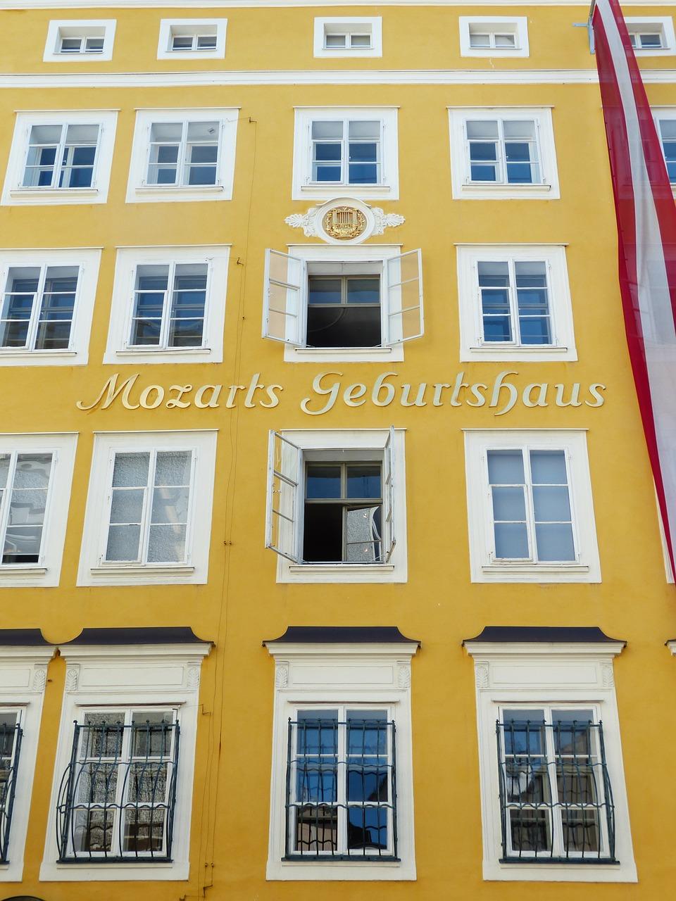 детето Моцарт роден дом