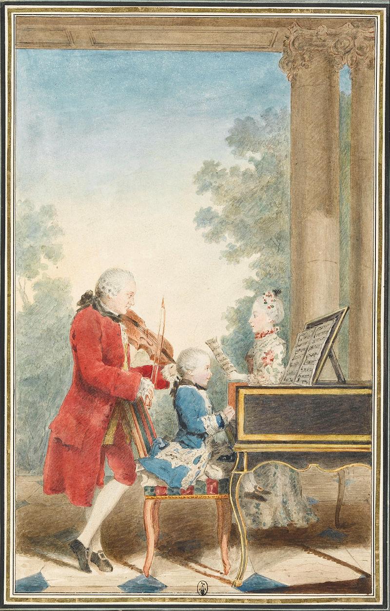 детето Моцарт