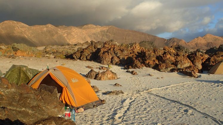 палатка в Чили