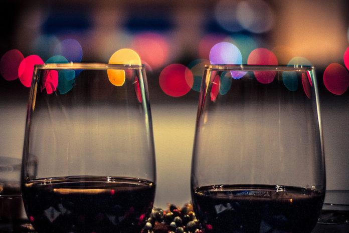 средата на февруари - вино