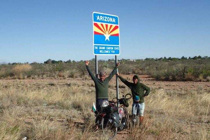 Аризона - българи на колела