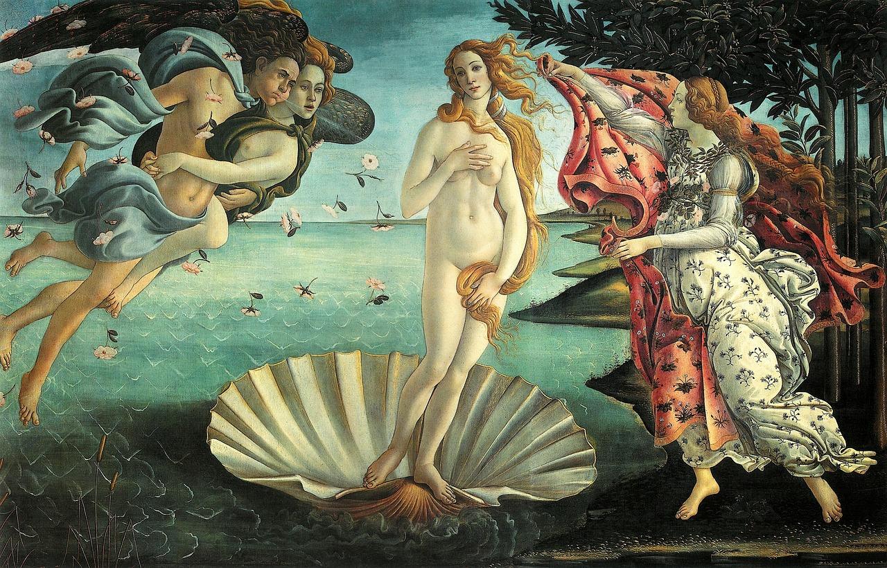Ботичели Раждането на Венера