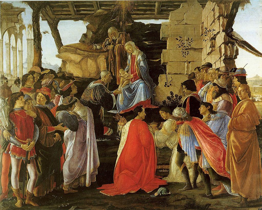 Поклонението на влъхвите Ботичели