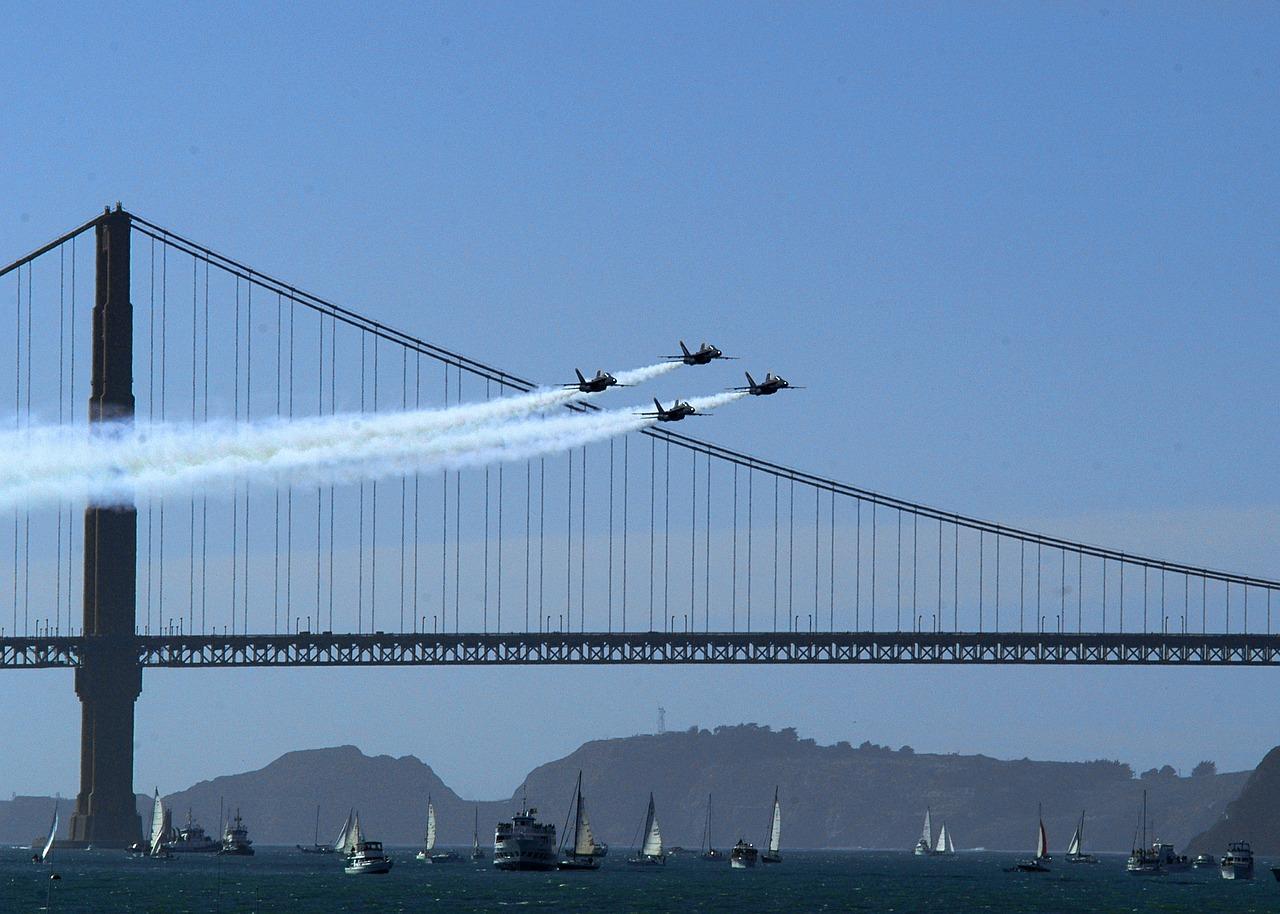 Сан Франциско военни самолети