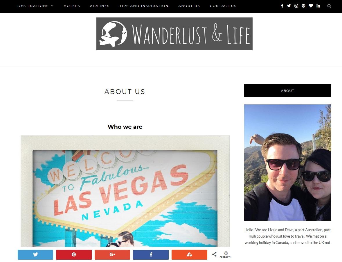 Wanderlust & Life
