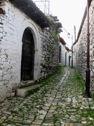 Берат, в крепостта