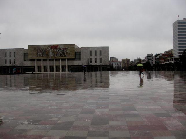 Площад Скендербег в Тирана