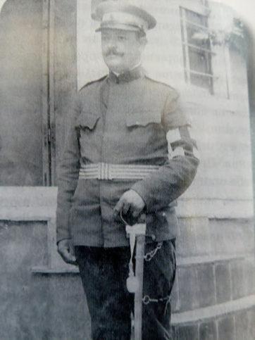 Стамен Григоров като лекар в Българската армия