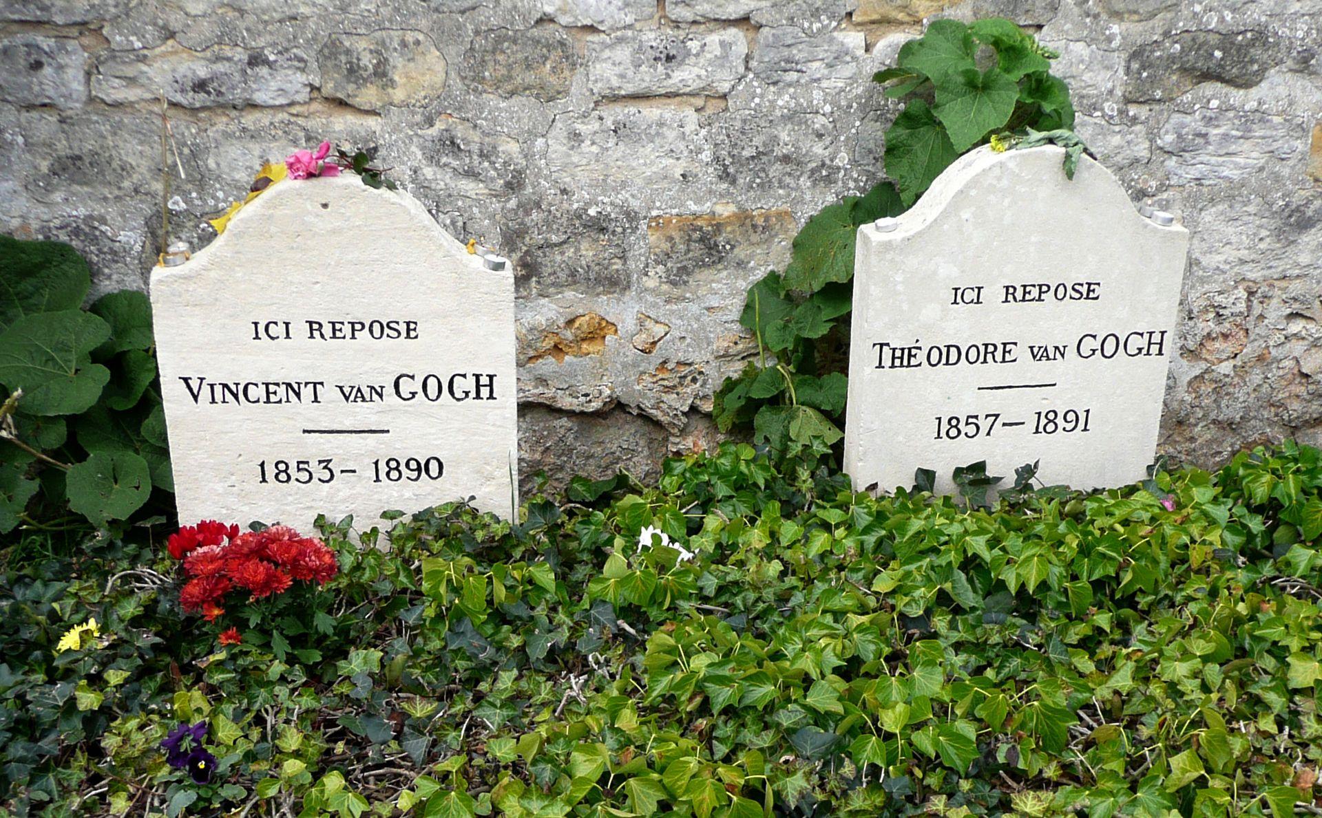 гробове Тео и Винсент ван Гог