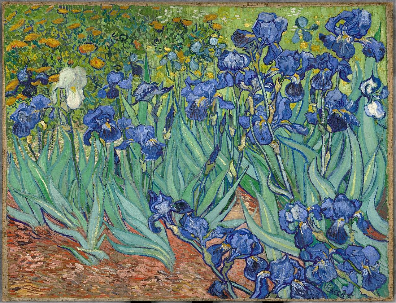 Ириси (1889) Винсент ван Гог