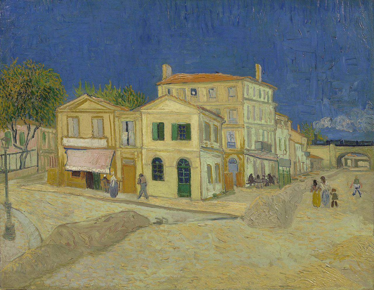 Жълтата къща (1888) от Винсент ван Гог