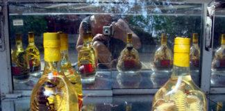 вино със змии и скорпиони