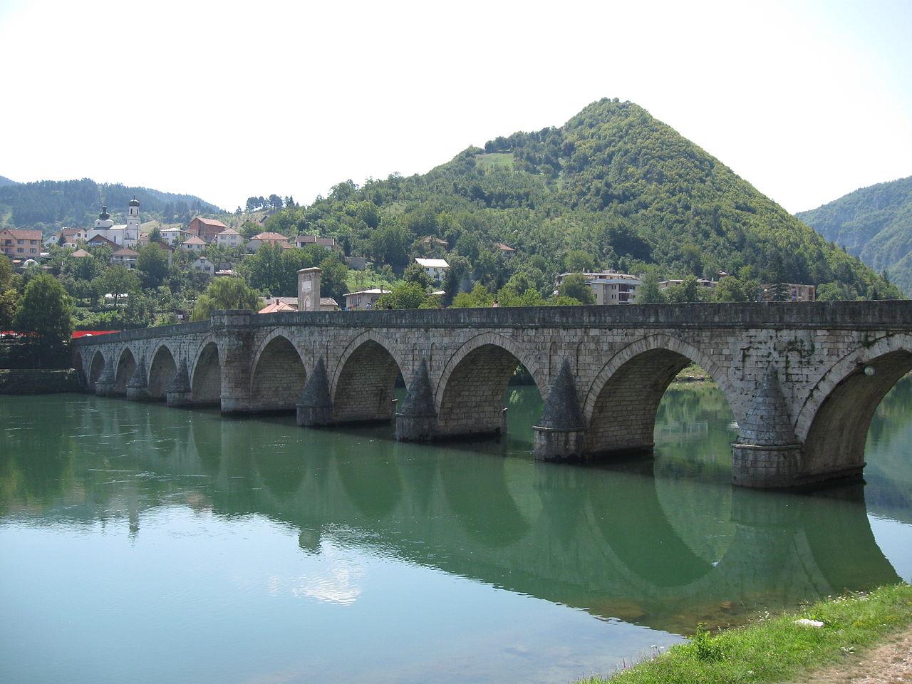 мостът на Дрина във Вишеград