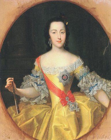 Портрет на Екатерина Велика