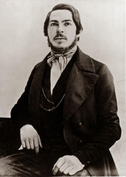 Фридрих Енгелс през 1840 г.
