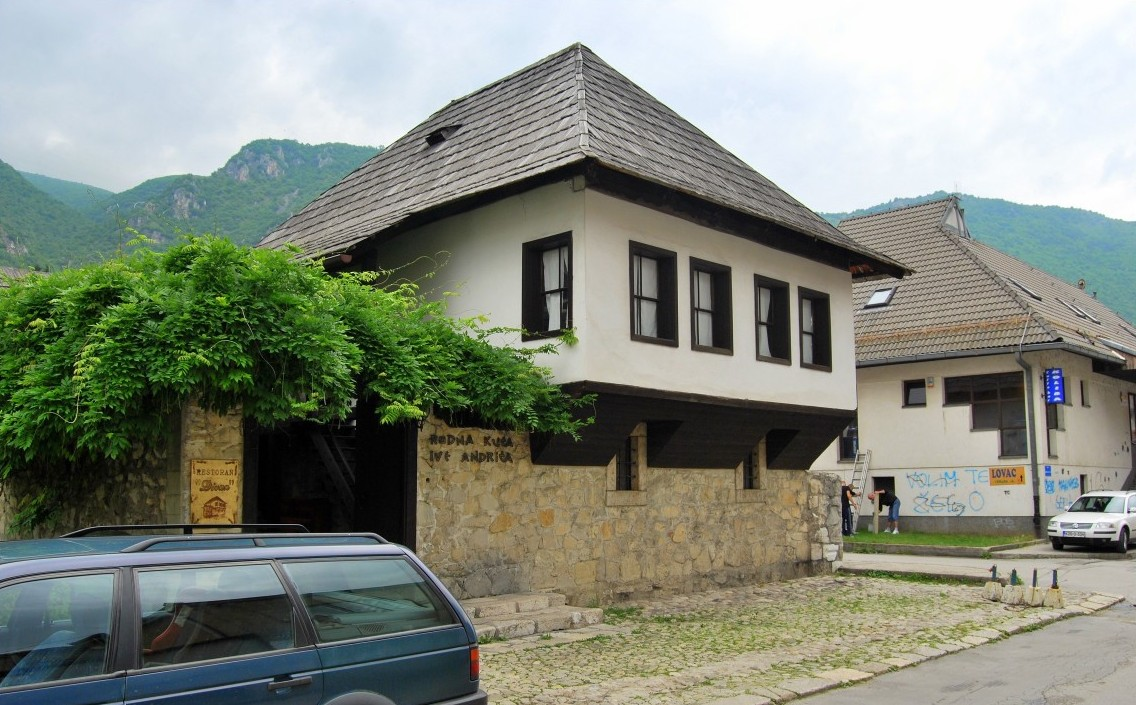 Родната къща на Иво Андрич в Травник.