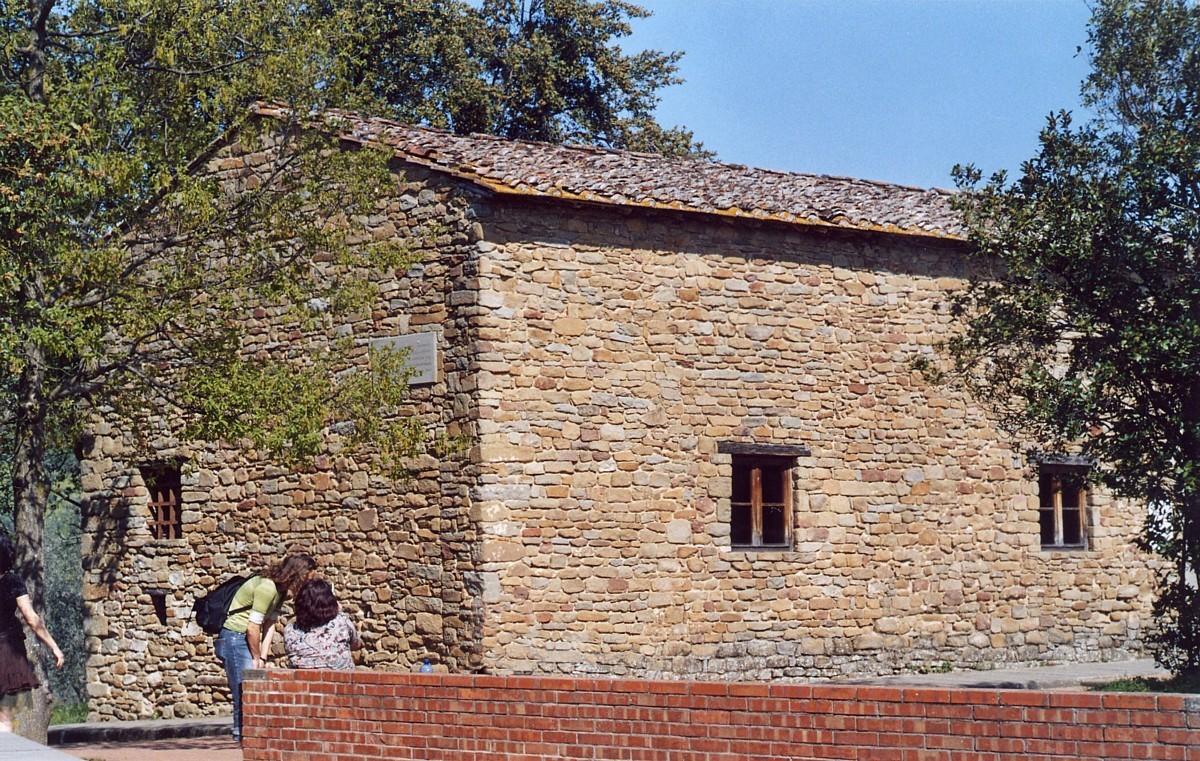 Къщата, където Леонардо прекарва детството си.