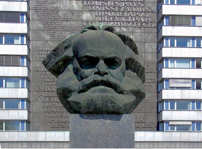 Паметник на Карл Маркс в Кемниц (Карлмарксщат)