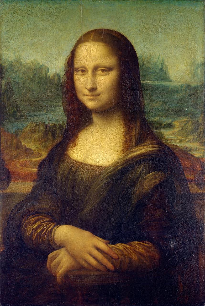 Картината Мона Лиза от Леонардо да Винчи.