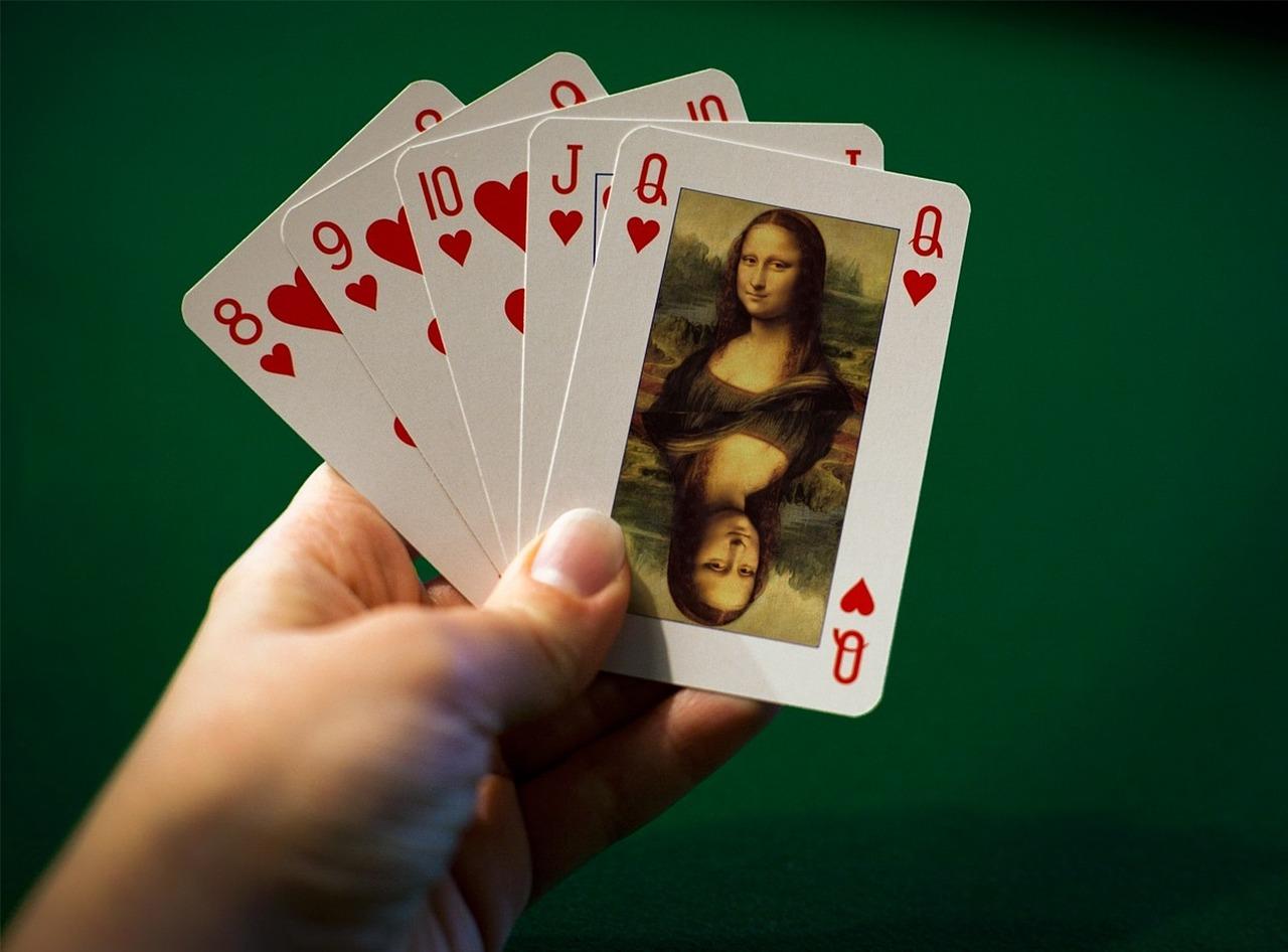 Мона Лиза на карти за игра