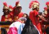 Приковаване към кръста на Разпети петък във Филипините