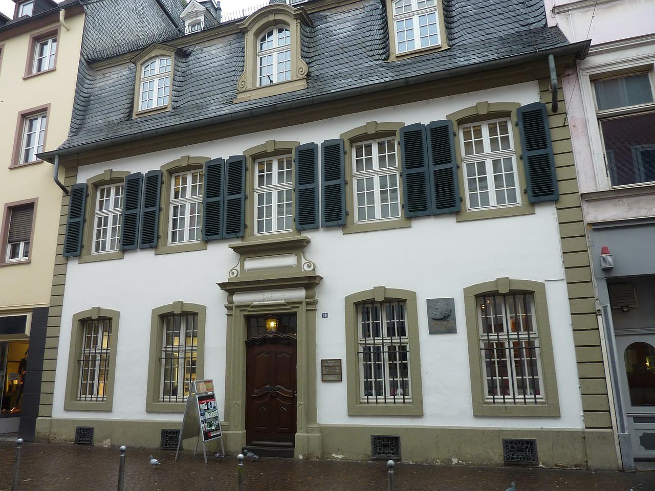 Родната къща на Карл Маркс в Трир