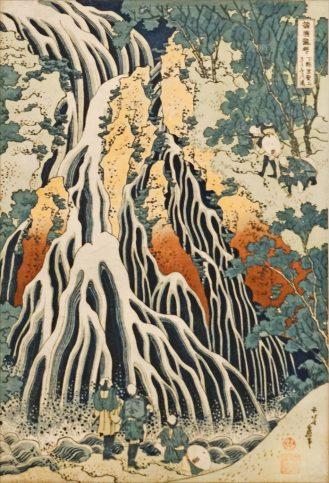 Hokusai_au_musée_Guimet_(8207452088)