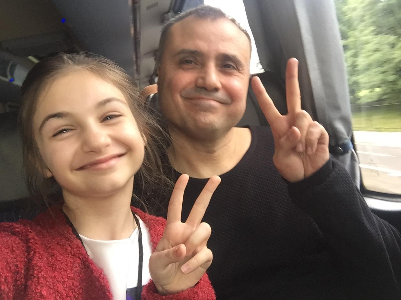 Крисия Тодорова с Евгени Димитров Маестрото